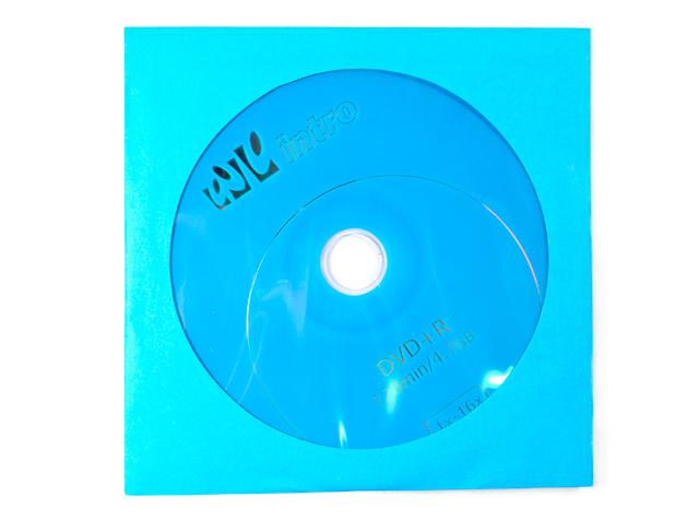 Диск DVD+R Intro 4.7 Гб 16х конверт