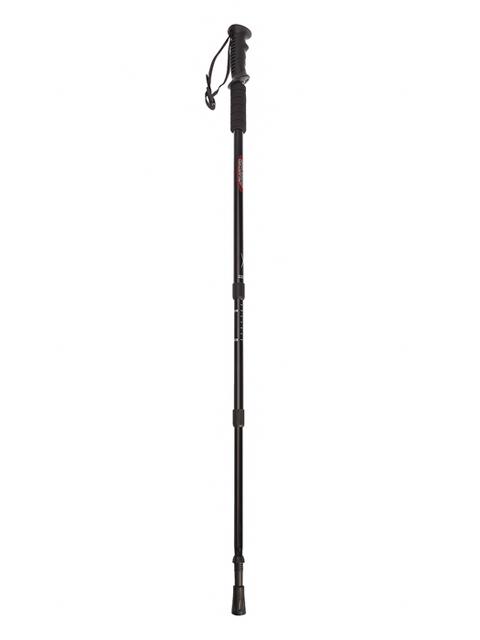 Палки для скандинавской ходьбы, 3-х секционная, алюминиевая, черная (комплект 2 штуки)