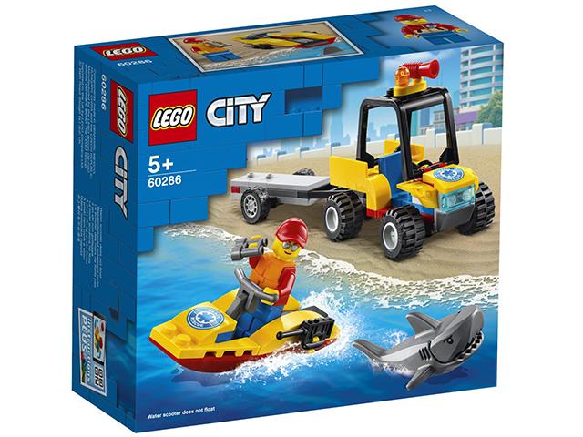 """Игрушка LEGO """"CITY"""" Пляжный спасательный вездеход"""