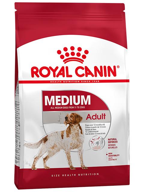 Корм РК Медиум Эдалт 3кг (для собак средн.пород в возрасте с 12 месяцев до 7 лет)