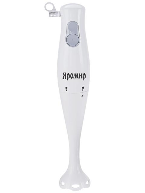 Блендер электрический Яромир ЯР-305 белый с серым: 350ВТ, нож  из нерж стали