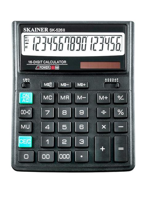 Калькулятор настольный SKAINER SK-524II 14 разрядный