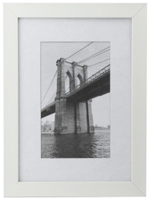 Фоторамка пластиковая 25х25 Image Art, белый