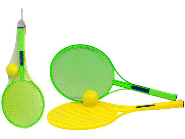 """Игровой набор """"Ракетки теннисные с мячиком"""", в сетке"""