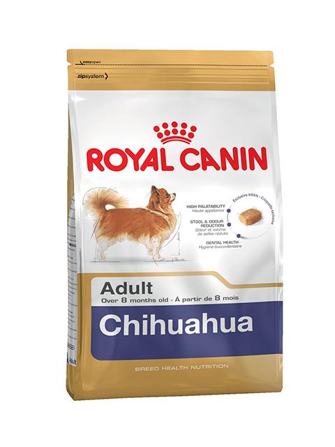 Корм РК Чихуахуа 0,5 кг (для собак породы Чихуахуа с 8 мес)