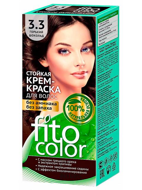 Крем-краска для волос FITOCOLOR 3.3 Горький шоколад