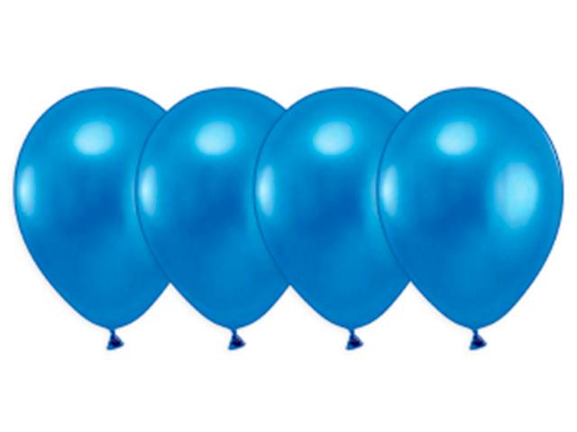 """Шар 14"""" металлик синий 50 штук в упаковке"""