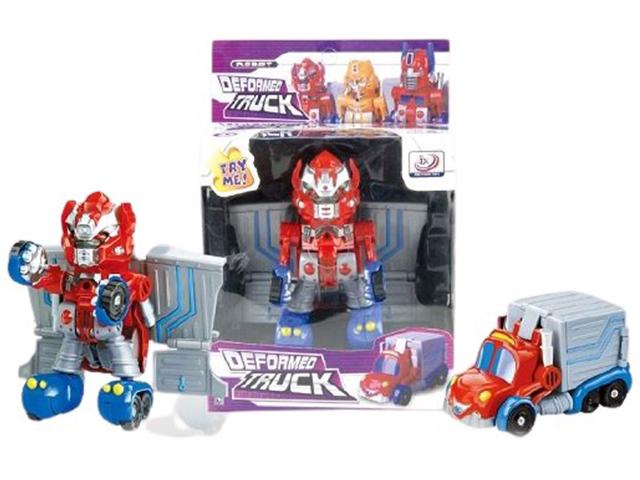 """Игрушка """"Робот-трансформер. Автобот"""" европодвес"""
