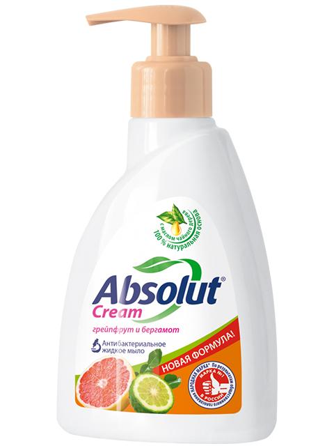 "Мыло жидкое Absolut Cream ""Грейпфрут и бергамот"", 250 мл"