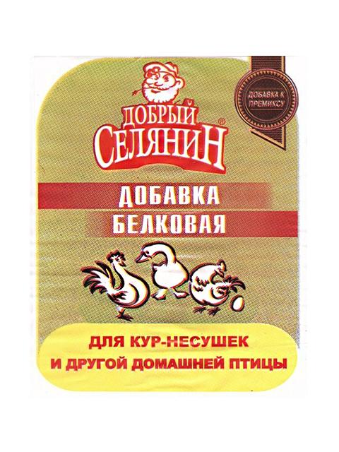 """БВМД """"Добрый селянин"""" для кур-несушек и др. домашней птицы 400гр. улучш., состав"""