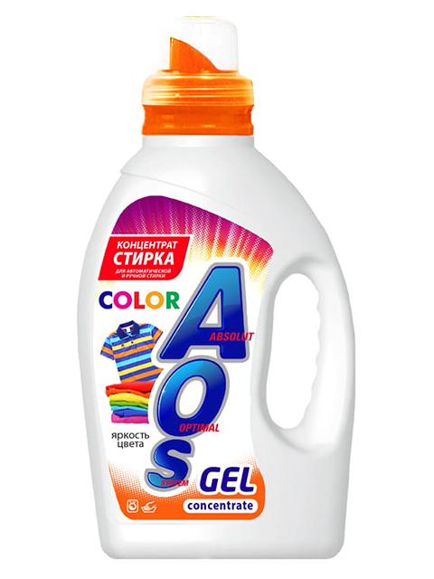 """AOS Гель для стирки """"Color для цветного белья"""" 1300 г"""