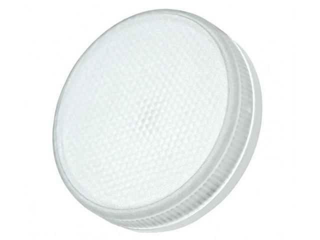 Лампа светодиодная PLED-ECO-GX53 6Вт таблетка 5000К холод. белый GX53 460лм