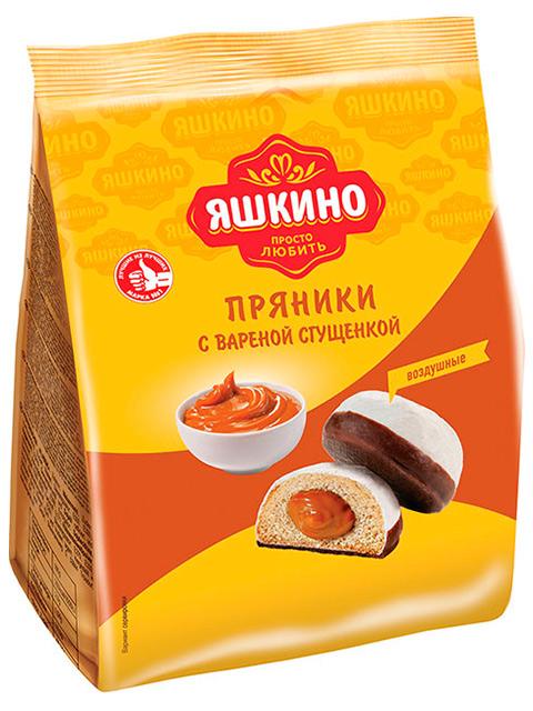 Пряники Яшкино с вареной сгущенкой, 350 г