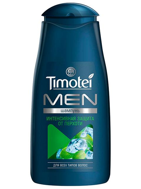 """Шампунь Timotei """"MEN Интенсивная защита от перхоти"""" для всех типов волос, 400мл"""