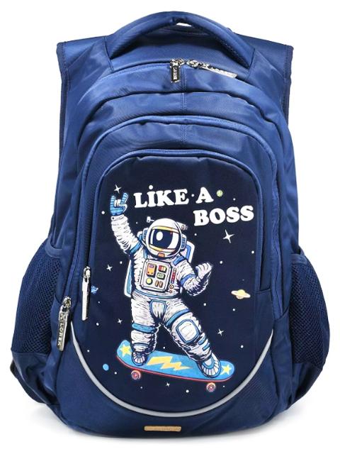 """Рюкзак школьный LOREX """"Like a boss"""" 48х38х13 см, 3 отделения"""