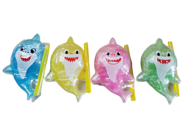 "Игрушка ""Слайм Тайм. Buble Gum. Надувная мяшка. Акуленок"" 8 см"