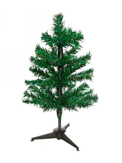 """Елка новогодняя """"Классика"""" 30 см, зеленая, 25 веток, на подставке"""