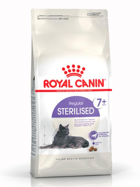 Корм РК Стерилайзд+7 3,5 кг (для кастриров. котов и стерилиз. кошек старше 7 лет)