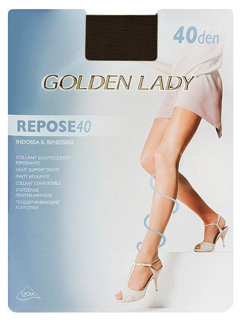"""Колготки женские Golden Lady """"Repose 40"""" Fumo 4-L"""