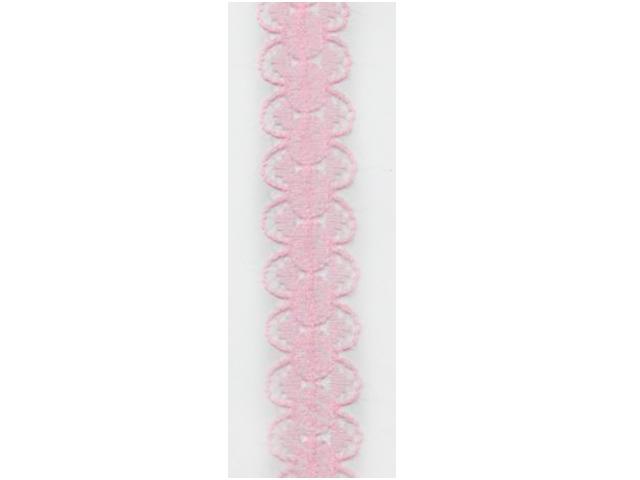 "Кружево 1,5см ""Светло-розовый"" (цена за 1м)"