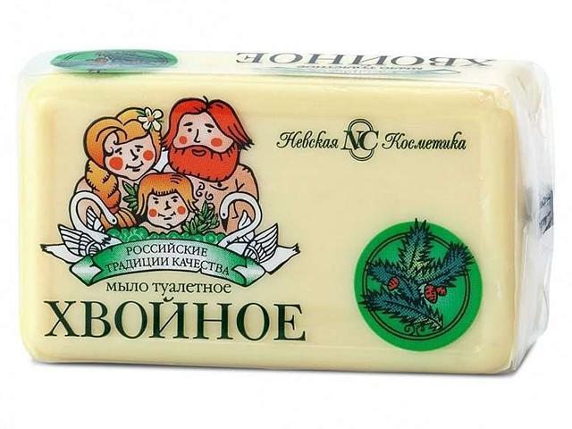 """Мыло туалетное Невская косметика """"Хвойное"""", 140г"""