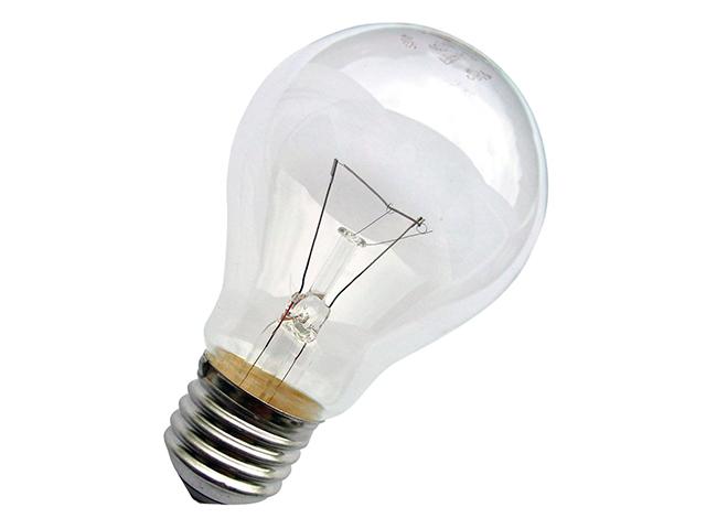 Лампа накаливания Б 95Вт/E27 Лисма