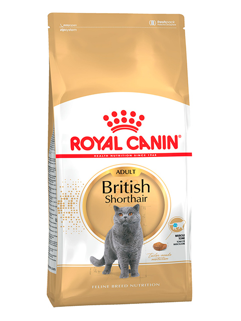 Корм РК ФБН Британская короткошерстная 4 кг (для кошек британ. короткошерст. породы старше 12 мес.)