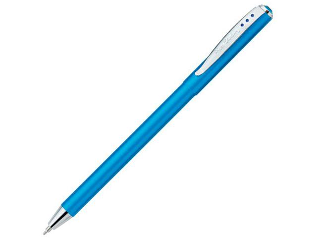 """Ручка шариковая автоматическая Pierre Cardin """"Actuel"""" корпус голубой, в подарочной упаковке"""