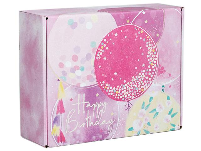 "Коробка подарочная складная ""Happy birthday"" 27х21х9 см"