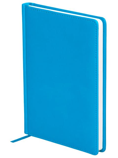 """Ежедневник недатированный А5 136 листов Office Space """"Winner"""" обложка кожзам, ярко-синий"""