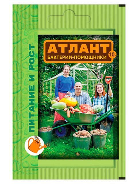 Атлант (пакет 10г) бактерии-помощники, питание и рост