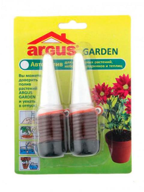 Автополив Argus garden 2шт. на блистере.(для комнатных растений в период отпуск
