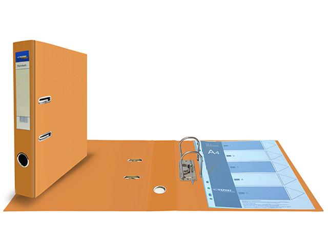 """Регистратор А4 Expert """"PVC. Premium"""" 50 мм полипропиленовый, оранжевый"""