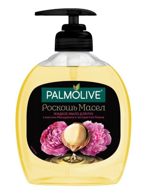 """Мыло жидкое Palmolive """"Роскошь масел Макадамия и Пион"""", 300 мл"""