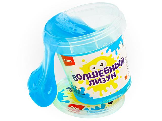 "Игрушка LORI ""Волшебный лизун"" голубой, с ароматом тутти-фрутти, 155 мл"