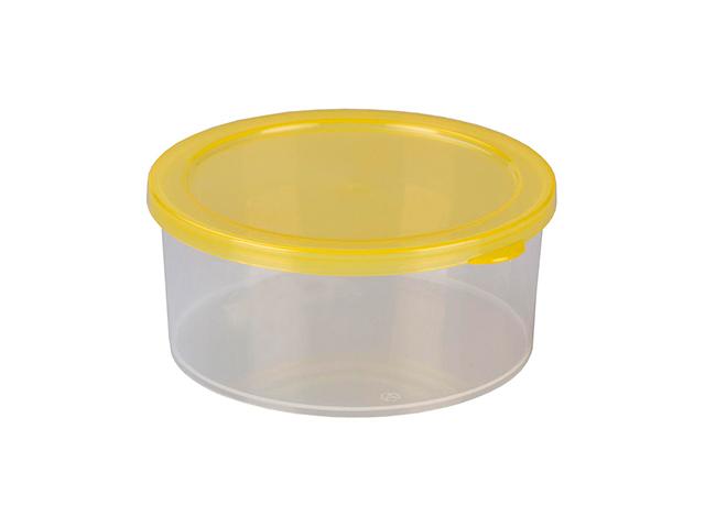 """Контейнер 0,4л """"Башпласт"""" для пищевых продуктов, круглый с крышкой"""
