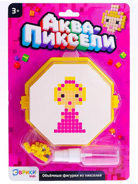"""Игра развивающая Эврики """"Аква-мозаика. Принцесса"""", блистер"""