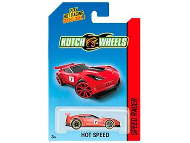 """Машинка """"Kutch Wheels"""" 6 см, 1:64, серая, в блистере"""