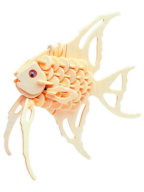 """Сборная модель из дерева """"Рыба-ангел"""""""