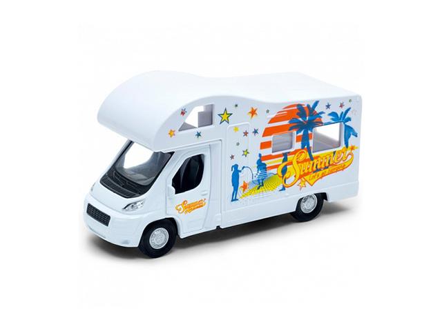 """Машинка-модель """"Camper Van"""" металлическая в коробке"""