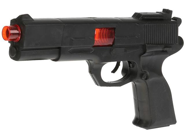 """Игрушечное оружие """"Автомат-трещетка"""" 27 см, на картоне"""