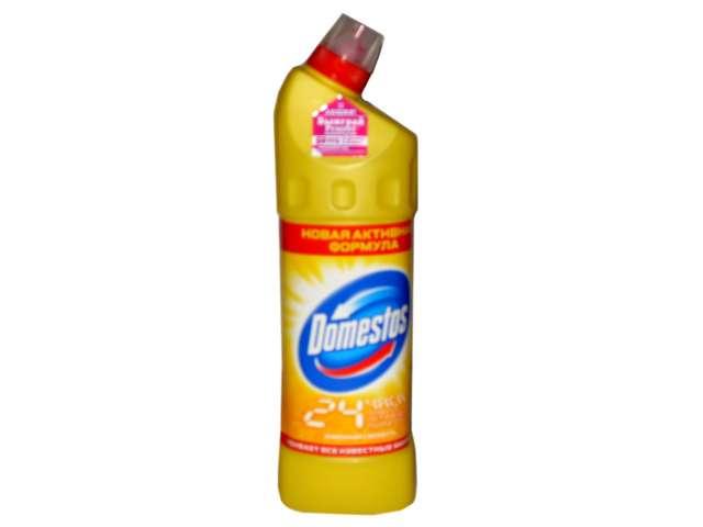 Domestos СЧС для туалета Fresh Лимонная свежесть желтый 1 л