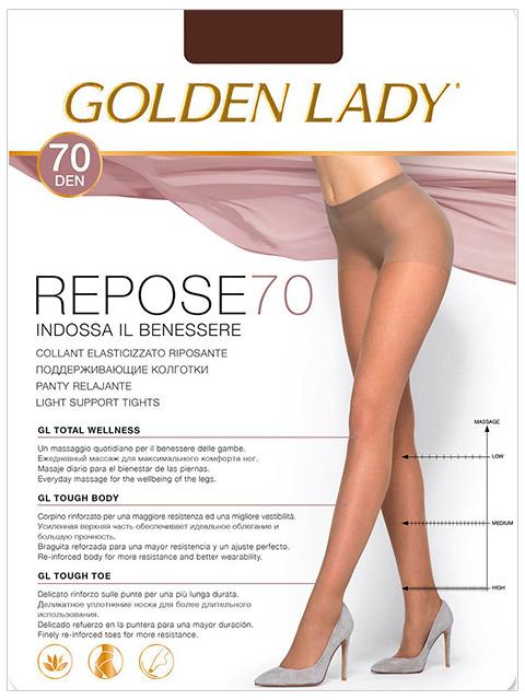 "Колготки женские Golden Lady ""Repose 70"" Fumo 3-M"