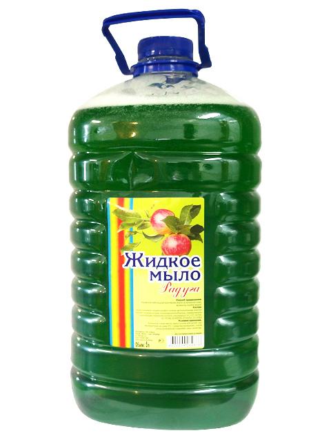 """Мыло жидкое """"Радуга. Яблоко"""", 5 литров"""