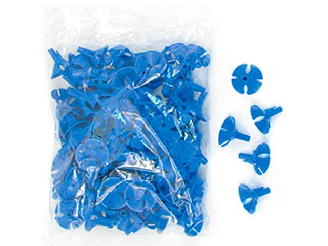Розетка для шариков Универсальная Синяя 100шт. в упак.