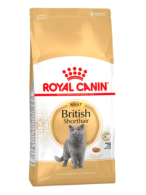Корм РК ФБН Британская короткошерстная 0,4 кг (для кошек британ. короткошерст. породы старше 12 мес.