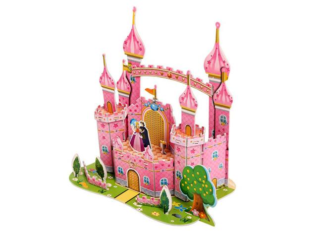 """Игрушка-конструктор """"Замок принцессы"""" пазл 3D"""