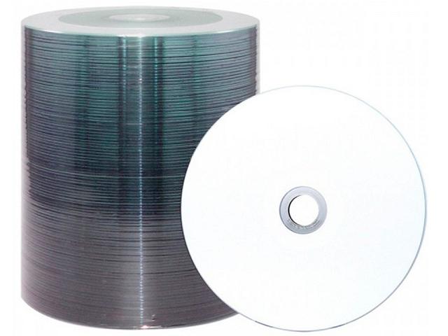 Диск DVD-R Intro 4,7 Гб 16х Printable Bulk 100