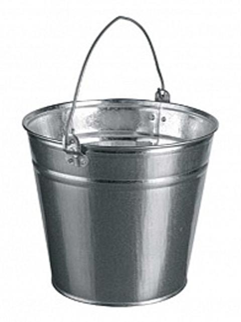 Ведро 12л  оцинкованное, 0,4мм