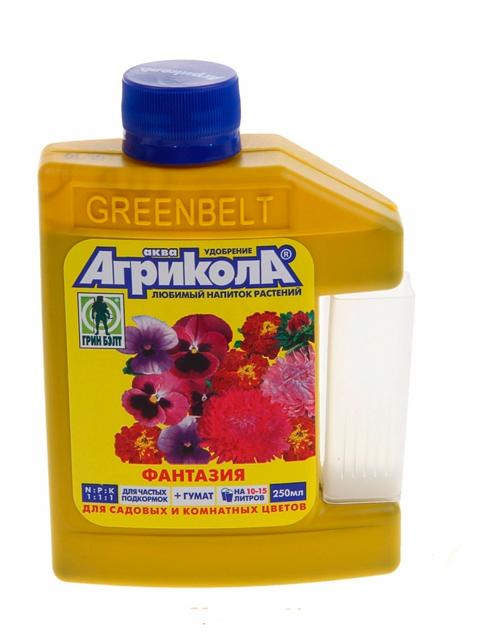 Агрикола Фантазия с мерным стаканом для цветочных культур (фл 250мл)